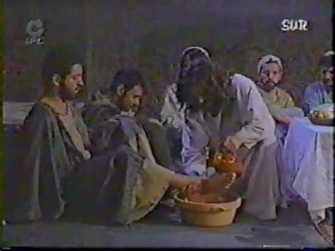 imagenes de jesus lavando los pies jesucristo lava los pies a los doce ap 243 stoles youtube