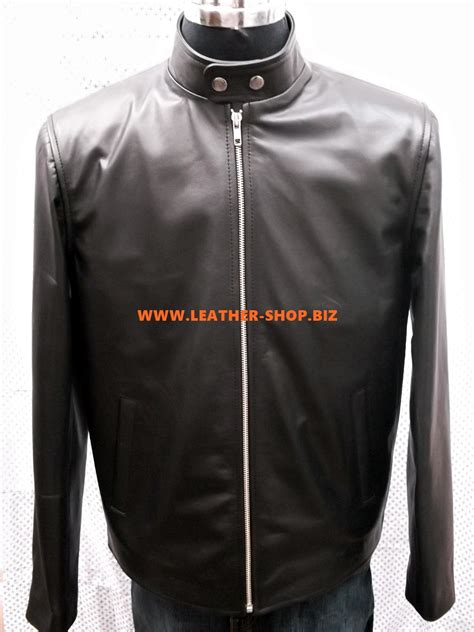 leather racing jacket cafe racer style leather jacket images