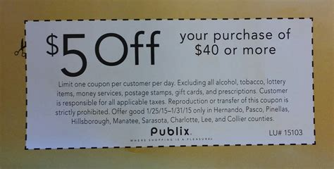 free printable grocery coupons publix hot 5 off 40 purchase publix coupon for some