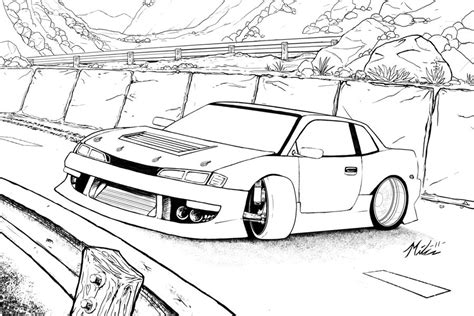 coloring pages drifting cars drift car coloring pages sketch coloring page