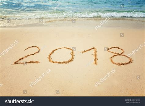 new year 2018 vacation period vacation 2018 new years celebration on stock photo