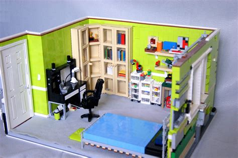 lego bed room detailed lego bedroom model serves as a memory brick brains
