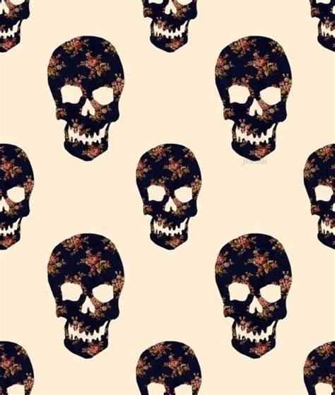 wallpaper tumblr skull skulls images skulls flowers wallpaper and background