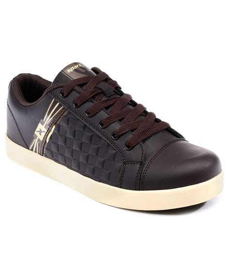sparx brown sport shoes price in india buy sparx brown