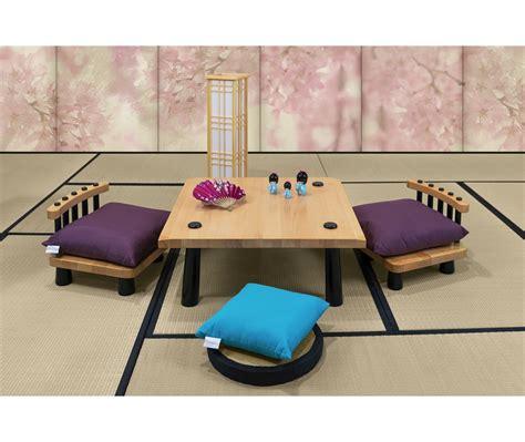 tavolo giapponese tavolino giapponese in faggio sedie vivere zen