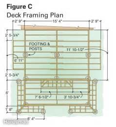 deck plans com dream deck plans the family handyman