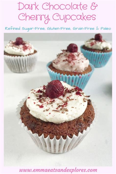 Cupcake Of The Week Festive Black Cherry Chocolate by Best 25 Chocolate Cherry Cupcakes Ideas On