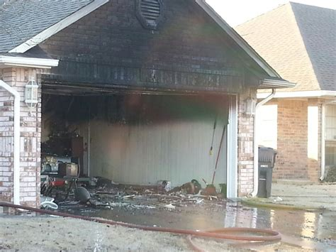 heat dog house firefighters heat l in dog house sparks fire in okc home kfor com