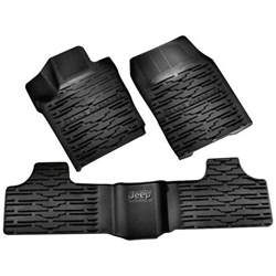 All Weather Floor Mats 2012 Jeep Grand Black Slush All Weather Vinyl Floor Mats 11 12 Jeep Grand