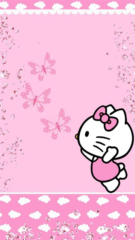 wallpaper ruangan hello kitty wallpaper hello kitty love a wallpaper com