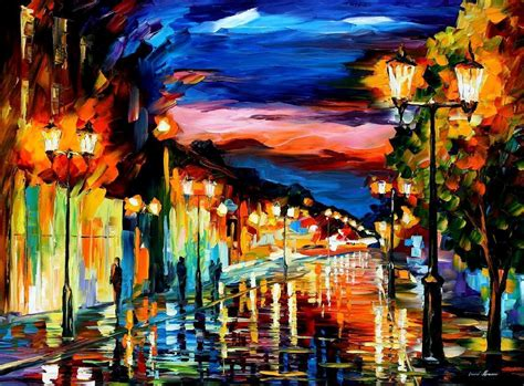 paint nite hton roads leonid afremov wallpapers wallpaper cave