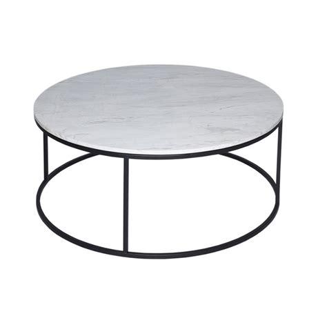 Black Metal Coffee Table Buy White Marble And Black Metal Coffee Table From Fusion Living