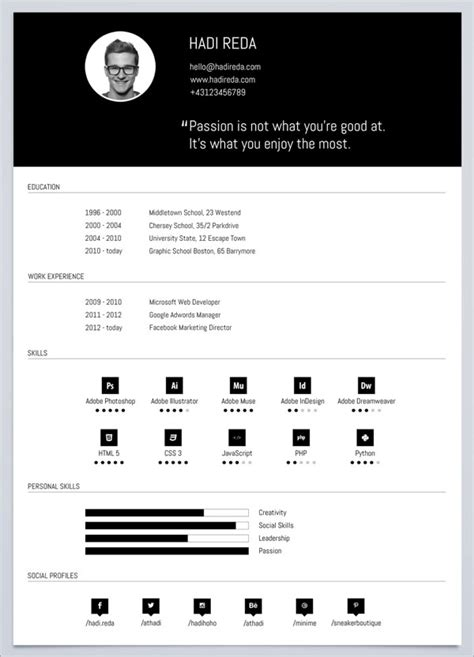 %name free creative resume templates   Le Marais   Free Modern Resume Template
