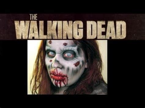 tutorial walking dead walking dead inspired zombie makeup tutorial
