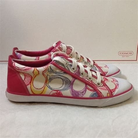 Coach Shoes Import 5 coach multicolor coach sneakers shoes 8 5 from olga s closet on poshmark