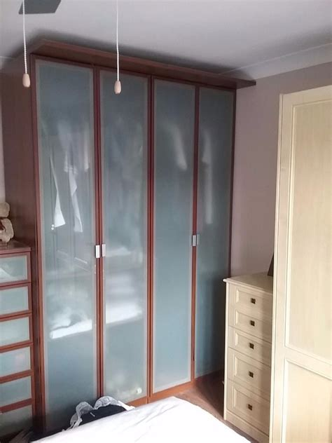 ideas  dark wood wardrobes