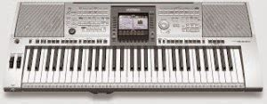 Keyboard Yamaha Jadul style single keyboard organ tunggal electone markas dunia
