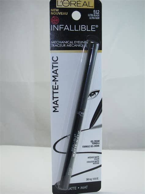 Eyeliner L Oreal l oreal infallible matte matic mechanical eyeliner review