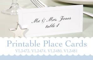 Place Cards Bridal Templates By Darice He S Ready She Said Quot Yes Quot Darice Bridal Templates