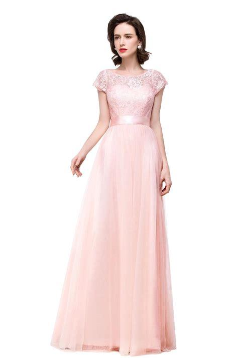 blush pink online get cheap blush pink bridesmaid dress aliexpress