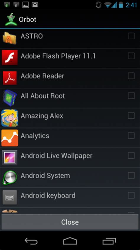 android tor orbot tor on android surf anonymously and privately on android devices