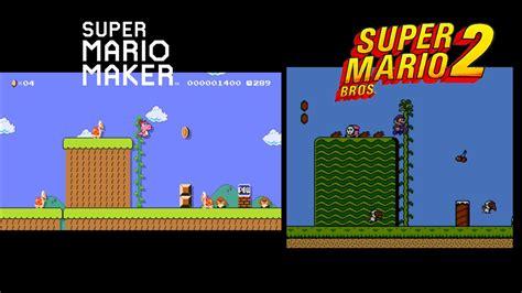 unlock themes mario maker mario maker event course comparison super mario bros 2