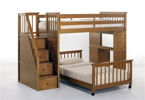 bunk beds for kids with stairs l shaped twin size bunk bed with stairs and hidden storage