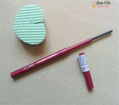 The One Gel Eye Liner Pencil Oriflame oriflame the one high impact eye pencil review swatches