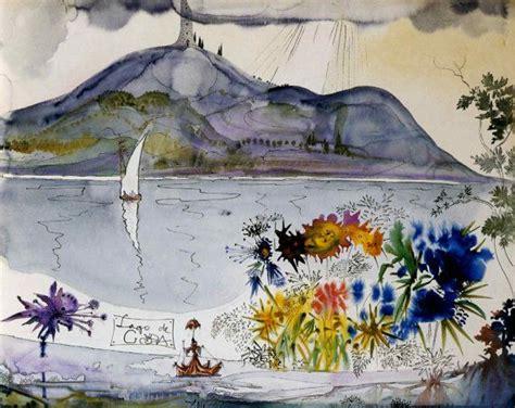 festival painting lago di garda lago di garda lake after salvador dali painted in