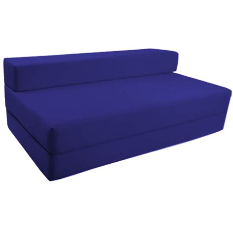 Folding Bed With Mattress Fold Out Foam Guest Z Bed Chair Folding Mattress Sofa Bed Futon Sofabed Ebay