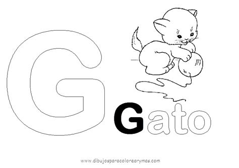 dibujos infantiles para colorear que empiecen con la letra o dibujos para pintar con g dibujos para pintar