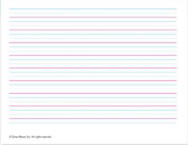 zaner bloser printable writing paper zaner bloser handwriting paper printable printable paper