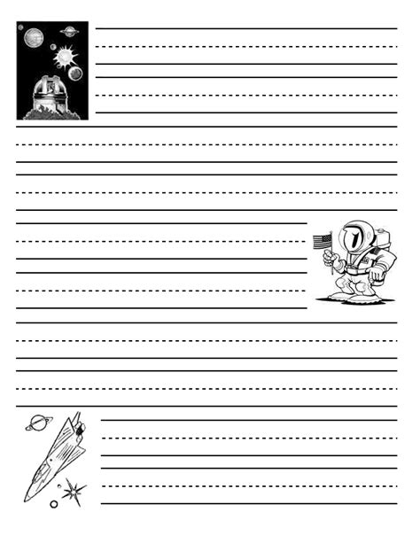 printable writing paper with space for picture space writing paper 28 images space writing paper