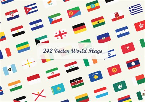 flags of the world vector eps vector world flags dreamstale