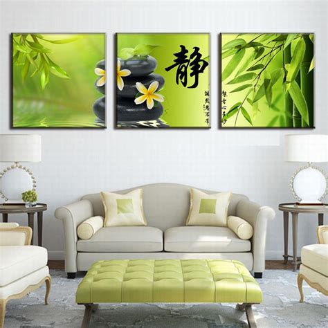 3 pcs set traditional still paintings on