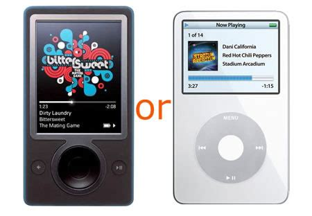 Ipod Giveaway - mobilemag zune vs ipod giveaway