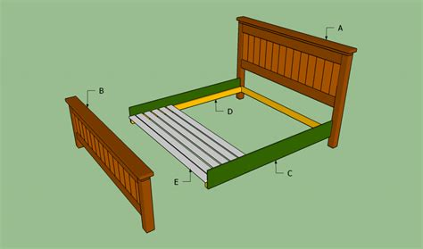 How To Build A King Size Bed Frame Howtospecialist How Bed Frame Construction