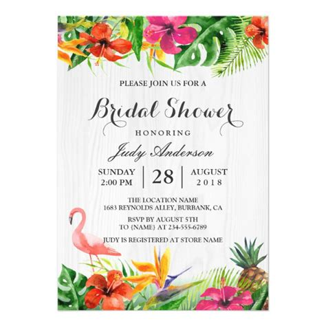 luau wedding invitations personalized luau invitations custominvitations4u