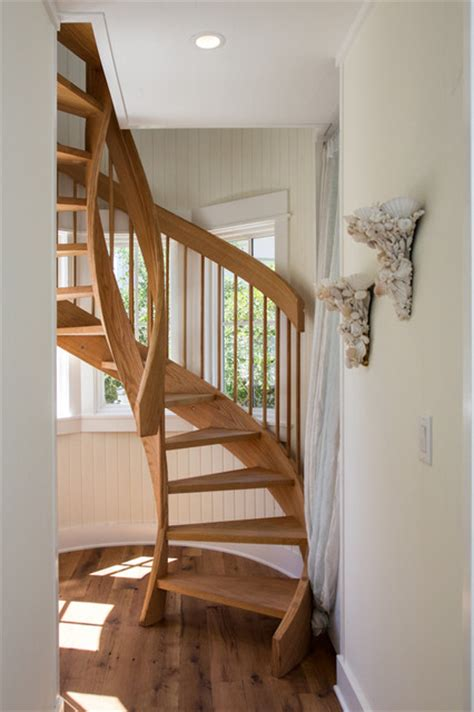 Split Level Home Designs spiral stair traditional staircase birmingham by