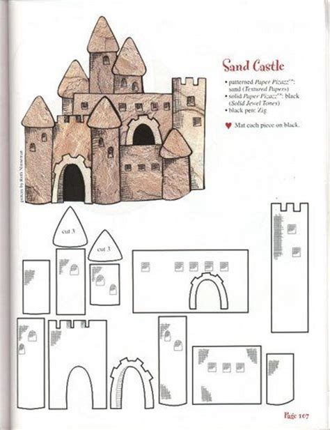 castle templates sandcastles on cardboard castle sand castle