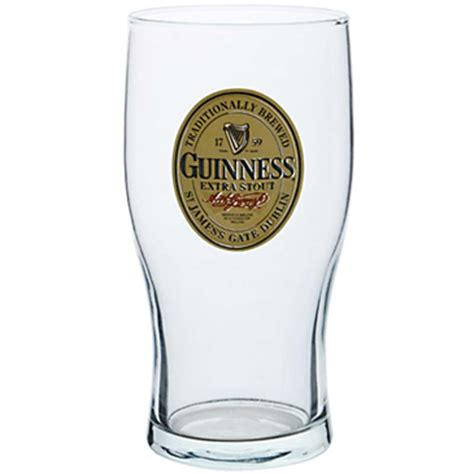 bicchieri guinness bicchiere guinness per soli 13 37 su merchandisingplaza
