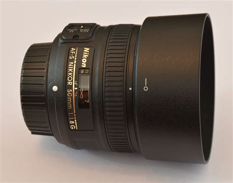Nikon Lens Af S 50mm F1 8 G file af s nikkor 50mm f1 8 g lateral jpg wikimedia commons