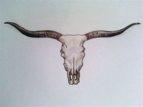 texas longhorn tattoos 7 best images about longhorn on print