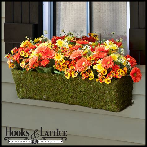 window box baskets moss window boxes moss hanging baskets