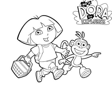 dora spring coloring pages dora easter coloring pictures