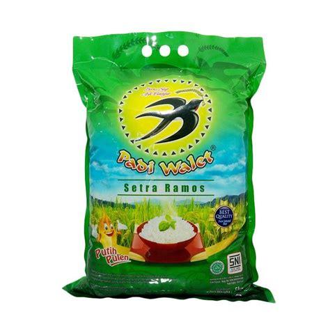 Beras Ngawiti 5kg Setra Ramos jual padi walet setra ramos beras 5 kg harga