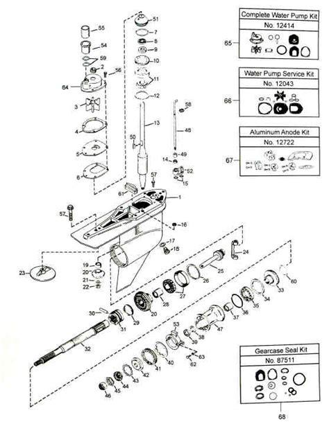 mercruiser outdrive parts diagram mercruiser alpha one generation 2 outdrive parts