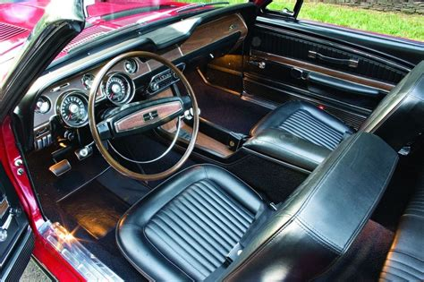 1968 Mustang Deluxe Interior by 1968 Shelby Cobra G T Hemmings Motor News