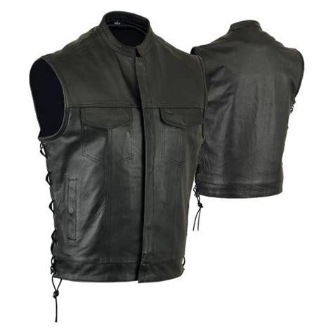 Vest Abu Abu Size Xl Second sons of anarchy vest with laced sides gun pockets