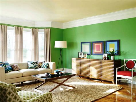 painting my living room house paint color wall home green